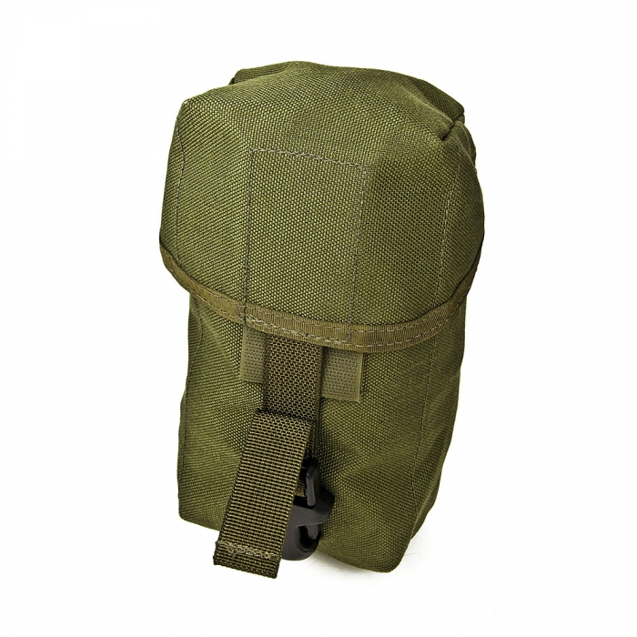 Tactical tailor canteen utility pouch od nylonfickor e for How to make a paracord utility pouch