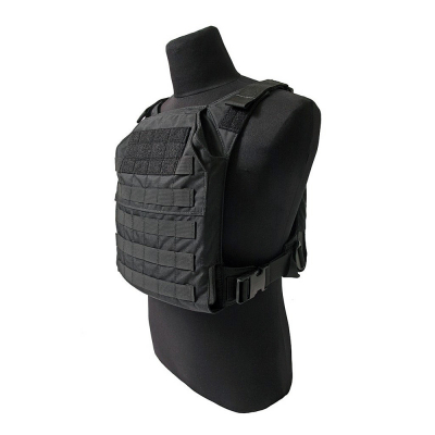 GREY GHOST | Minimalist Plate Carrier | Black