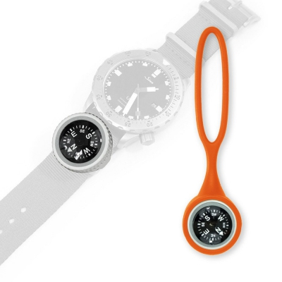 PDW | Expedition Watch Band Compass Kit | Orange