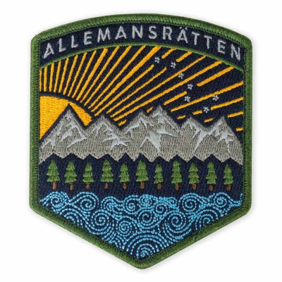PDW | All Terrain ALLEMANSRÄTTEN Morale Patch