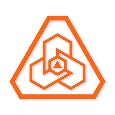 PDW | Logo ProCut Sticker | Blaze Orange