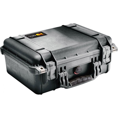 PELI | 1450 Medium Case | Svart med skum