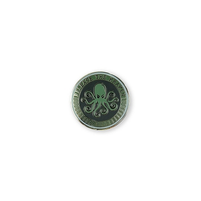 SPD | Release The Kraken Lapel Pin