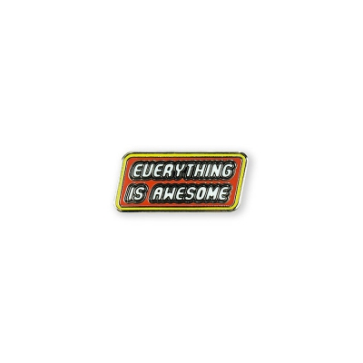 PDW | Everything Is Awesome Lapel Pin