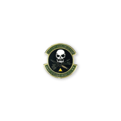PDW | If It Bleeds We Can Kill It Lapel Pin