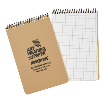 MODESTONE | 96x148 mm Notepad | 50 blad/ 100 sidor | Tan