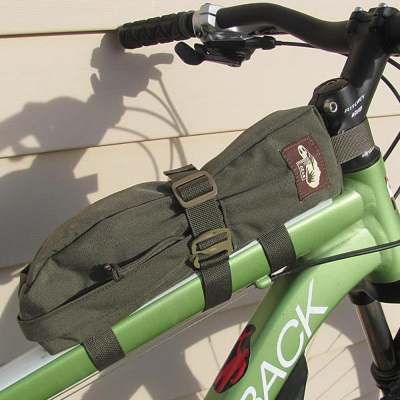 Hill People Gear | Bike Frame Bag | Ranger Green