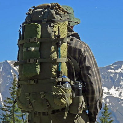Hill People Gear | qui-Ya Backpack | RG/Khaki