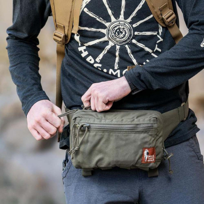 Hill People Gear | Belt Pack | Ranger Green