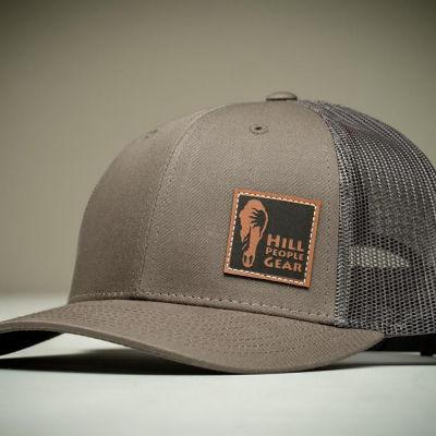 Hill People Gear | Mesh Snapback | Chocolate Chip